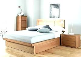 low profile wooden bed frame – damachills