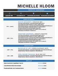 Cool Resume Templates Awesome 48 Creative Resume Templates [Unique NonTraditional Designs]