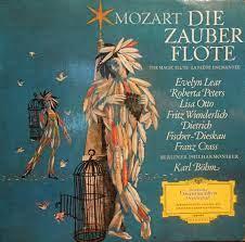 Mozart • Karl Böhm • Evelyn Lear • Roberta Peters • Lisa Otto • Fritz  Wunderlich • Dietrich Fischer-Dieskau • Franz Crass • Berliner  Philharmoniker – Die Zauberflöte (Querschnitt) (1969, Vinyl) - Discogs