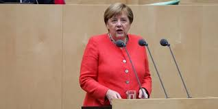 From 2000 to 2018 she was also the leader of the german christian democratic union (cdu). Emprunt Green Deal Brexit Angela Merkel Presente Le Programme De Sa Presidence De L Union Europeenne