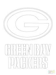 Green Bay Packers Coloring Pages Green Bay Packers Football Coloring