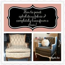 fabric paint for furnitureTutorial How to Paint Upholstery Fabric and Completely Transform