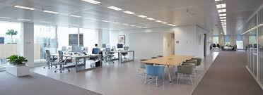 office space lighting. flexible open plan office space lighting