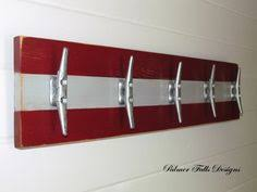 Boat Cleat Coat Rack Nautical Boat Cleat Coat Rack Nautical by PalmerFallsDesigns 38