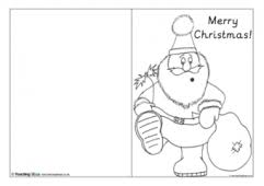 Christmas Card Templates Teaching Ideas