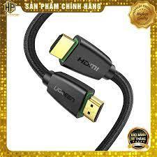 Cáp HDMI 2.0 bọc lưới Ugreen dài 10M - 15M hỗ trợ 3D 4K chính hãng -  Hapustore