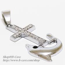 trendy necklaces dolphin pendant cross pendant dolphin necklaces cross necklaces singapore