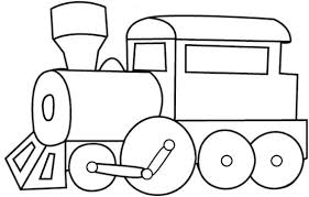 These train coloring pages to print will surely make things easier for both of you. Easy Coloring Pages Easy Coloring Pages Cars Coloring Pages Train Template
