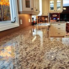 the popularity of granite as a material for home kitchen countertops
