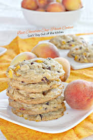 Peach Kitchen Best Chocolate Chip Peach Cookies Cant Stay Out Of The Kitchen