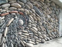 Small Picture The Ancient Art Of Stone Couple Creates Beautiful Rock Wall Art