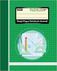 Buy Graph Paper Notebook Notebook Journal 1 4 Squared Graphing
