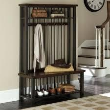 Coat Rack Furniture Beauteous Bench With Coat Rack Piyakornch