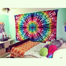tie dye wallpaper for bedrooms photo - 1