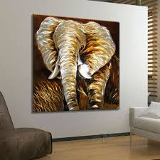 wall art ideas design animal african metal elephant simple classic remarkable sculpture sofa grey astounding african