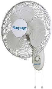 hurricane hurricane supreme oscillating wall mount fan 16 in 48 plt