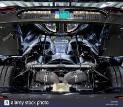 An Engine Inside The Car Koenigsegg Supercar Factory Angelholm