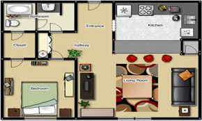 One Bedroom Apartment Layout One Bedroom Apartment Floor Plan One Bedroom Apartment Layouts 1