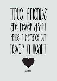 Quotes About Distance And Friendship
