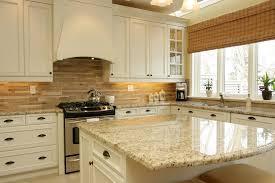 tile kitchen countertops white cabinets. Giallo Ornamental Granite For Warm \u0026 Elegant Kitchen Design | Aqua Bath Center Tile Countertops White Cabinets