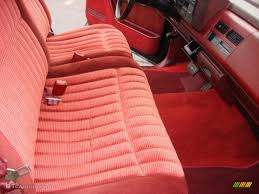 Red Interior 1990 Chevrolet C/K C1500 454 SS Photo #74529860 ...