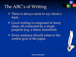 e ffective w riting s kills cis cis effective writing skills  effective writing skills the abc s of writing  there is always more to say about a
