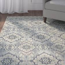 blue and cream area rug throughout charlton home montville santa ana property grey regarding 19