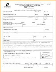 Form Standard Prior Authorization Form Luxury Forms Letter And