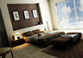 bedroom wall design. Wall Art Decor Ideas, Brown Luxurious Ideas For Bedroom Design Beautiful Decorations Flowers