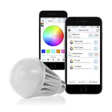 control lighting with iphone. flux bluetooth led smart bulb wireless multi color changing light for kitchen bedroom app controlled sunrise wake up sunset sleeping control lighting with iphone
