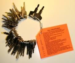 Heavy Equipment Key Chart Equipment Keys Blue 1 Tool Rentals Equipment Keys