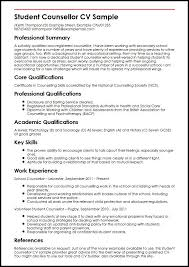 Resume Examples For Students Simple Cv Template Examples For Students Kenicandlecomfortzone