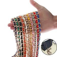 <b>60cm</b> DIY <b>Resin</b> Bag Strap <b>Acrylic</b> Female Bag <b>Chain</b> For Shoulder ...