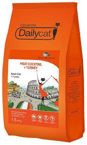 <b>Корма</b> для кошек <b>Dailycat</b>