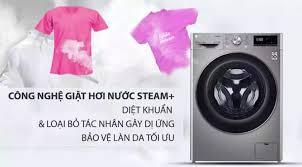Máy giặt sấy LG FV1409G4V 9/5 Kg Inverter Cửa trước với thiết kế hiện đại,