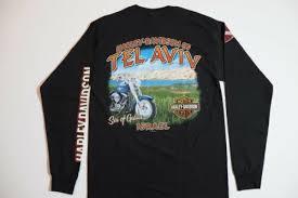 harley davidson t shirt biker long