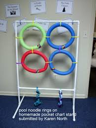 Pocket Chart Rings Use Your Pocket Chart Stand And Pieces From Your Noodle Ring