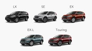 2016 Honda Cr V Lx Ex Ex L And Touring Whats Different