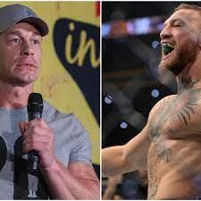 Conor McGregor in WWE: John Cena gives ...