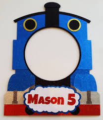 free thomas the train frame