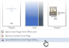 Office Cover Page How To Easily Make An Attractive Cover Page In Microsoft Word