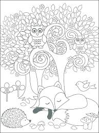 Coloring Pages Forest Animals Forest Animal Coloring Pages Woodland Animals Coloring Pages Forest