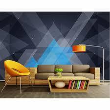modern office wallpaper. Tuya Art Modern 3D Future Technology Geometric Wallpaper For Office Meeting Room Living Bedroom Mural