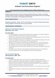 Example Test Cases For Manual Testing Pdf Test Automation Engineer Resume Samples Qwikresume