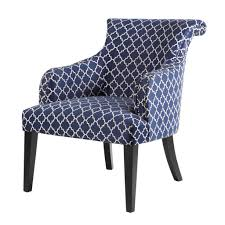 Blue Pattern Accent Chair Delectable Chair Vintage Accent Chairs Linen Accent Chair Contemporary Accent