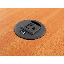 grommet with 1 usb charge port and 1