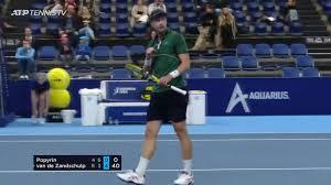 Botic van de Zandschulp Battles For Antwerp Win | ATP Tour