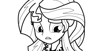 Small Picture Sunset Shimmer Equestria Girls Rainbow Coloring Coloring Pages