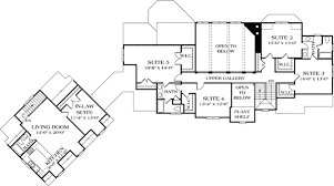 Luxury with Separate Guest House - 17526LV floor plan - 2nd Floor