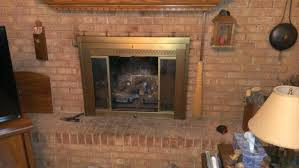 wood stove glass replacement replacing fireplace gas shattered